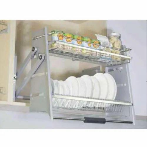 Pull Down Kitchen Storage Rack