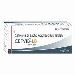 Cefixime 200mg Lactic Acid Bacillus