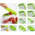Premium Super Dicer Fruit Vegetable Multi Chopper Chipser Slicer and Grater