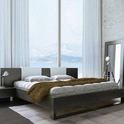 Sleigh Modern Bed