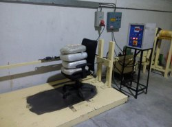Mild Steel Powder Dynamometer Castor Durability Testing Machine For Laboratory, Model Number/Name: 2018
