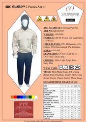 Fire Retardant Pant & Shirt Set