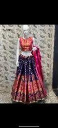as pic Wedding Wear Lehnga Choli Brocade