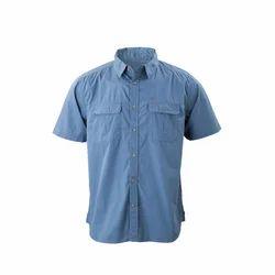 Plain Half Mens Cotton Shirt
