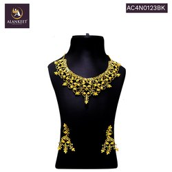 Alankeet  Fashion Indian Traditional Choker Style Gold Plated Jewelry for Women