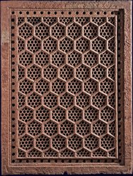 Handmade Brown Marble Jali