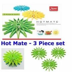 Apex Hot Mate / Hot Pot Stand - 3 Piece Set - Color May Vary