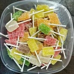 12 Months Sugar Coated Fruit Jelly Candy, Packaging Type: Packet, Packaging Size: 500g, Also Available in 1kg