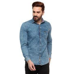 Full Sleeve Mens Denim Shirt
