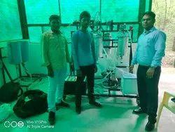 Bio diesel production pilot plant