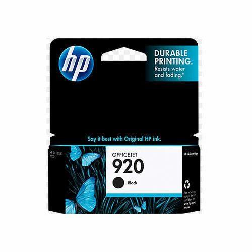 CD971AA HP 920 Black Ink Cartridge