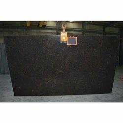 Absolute Black Galaxy Granite Slabs, 2 Cm