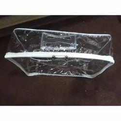 Zipper PVC Transparent Garment Bag, Capacity: 2 Kg,  Size: 20x25 Inch