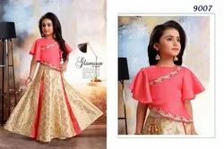Kids Stylish Modern Lehengas for Girls
