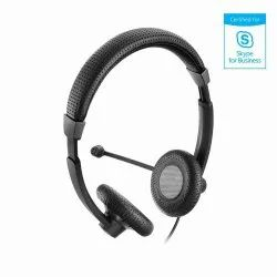 With Microphone Over The Head Sennheiser SC 70 USB MS Black Article No. 506502
