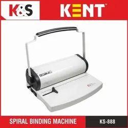 KENT KS-888 Spiral Binding Machine