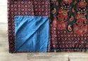 Printed Katha-work Jaipuri Cotton Dohar Ac Blanket, Size: 90*108