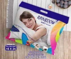 Plastic Multicolor Pillow Packaging Bag, Capacity: 1 Kg