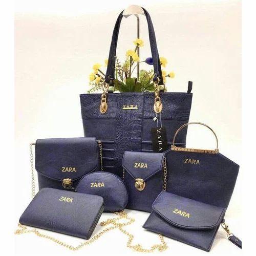 32d909bb9f Ladies Combo Bags - Black Ladies Combo Bags Wholesale Trader from Mumbai