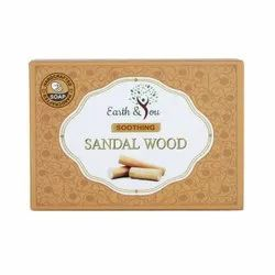 Earth & You Soothing Sandal Wood Soap, For Bathing