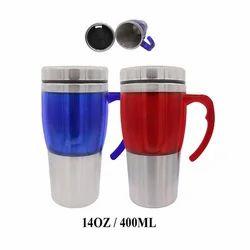Half Steel Travel Mug