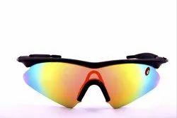 Male Black Omtex Prime Rainbow Sunglasses