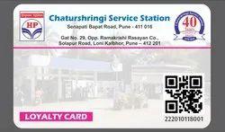 PVC Rectangular QR Code ID Cards