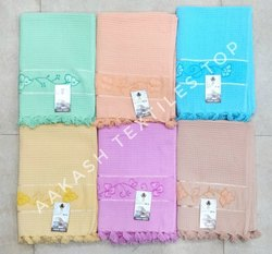Cotton Multicolor Honeycomb Towels for Home