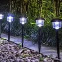 Solar Powered Light with Warm Led