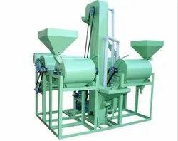 500 Kg/Hr WIPL Semi Automatic Dal Mill Machine