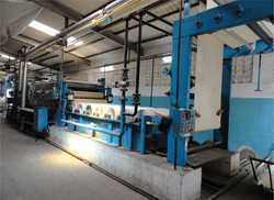 Open Width Fabric Mercerizing Machine