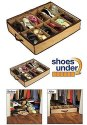12 Pairs Under Bed Storage Shoe Rack