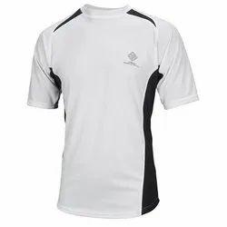 Cotton Plain Men's White T-Shirt, Machine wash