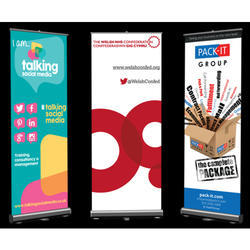 Printed Roll Up Banner Stand
