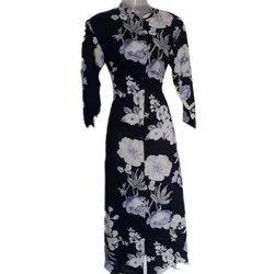 Stitched Casual Wear Printed Ladies Kurti, Machine wash