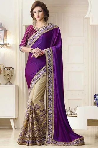 ddad778176 As On Pic Silk Designer Fancy Party Wear Half Saree, 3499 /piece ...