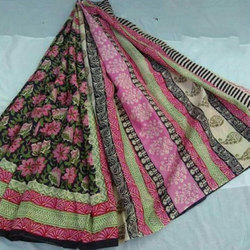 Cotton Printed Ethnic Saree, Length: 6.3 m