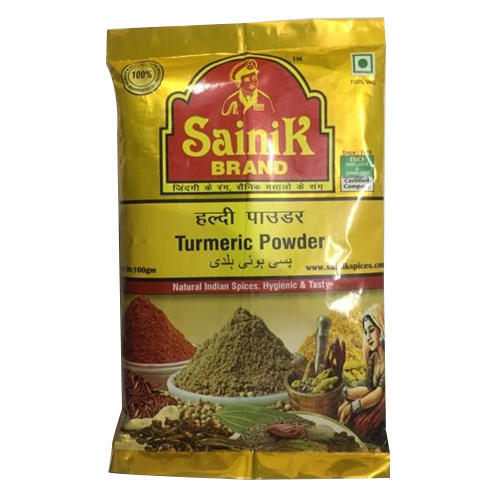 Turmeric Powder, Packaging Type: Packets