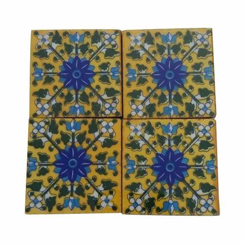 Shiv Kripa Square Pottery Tile Size X Inch ID - 5x5 inch tiles