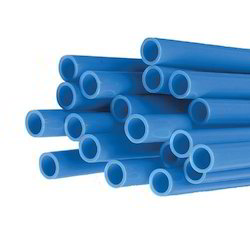 Blue PVC Electrical Pipe