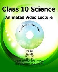 Smart Education DVD for Class 10 Science Animated Video Lectures In English and Hindi