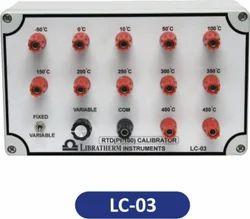 RTD (Pt 100) Calibrator  LC-03