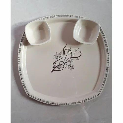 Печать на тарелках. Деколь логотипа