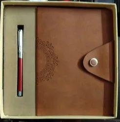 Handmade Designer Notebook Pen Set