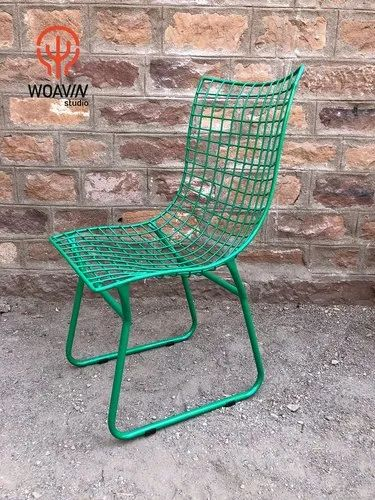 Awe Inspiring Woavin Industrial Commercial Outdoor Resort Garden Classic Mid Century Modern Wire Outdoor Chair Creativecarmelina Interior Chair Design Creativecarmelinacom