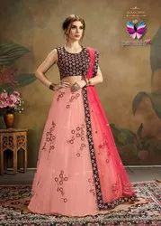 Party Wear Designer Net Lehenga Choli