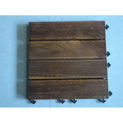 Teak Tile Wood Deck