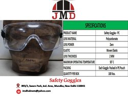 P C  Eye Protection Safety Goggles