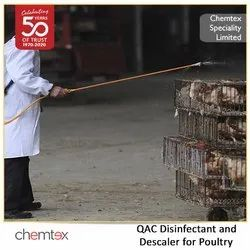 QAC Disinfectant and Descaler for Poultry
