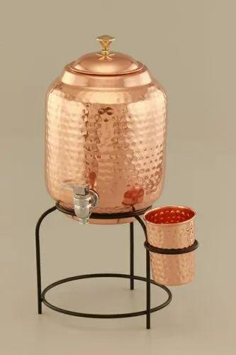 Copper Water Matka